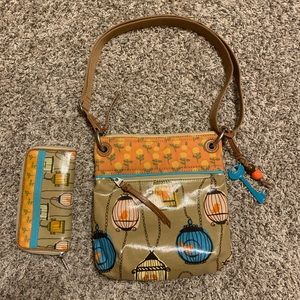 Fossil Key-Per Purse with Wallet